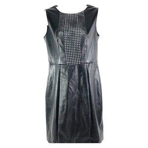 Vince Camuto Black asymmetrical sleeveless dress